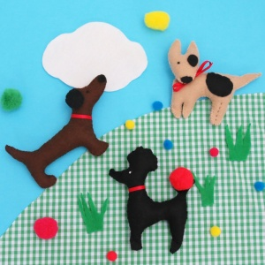 Buttonbag Puppy Love Craft Kit
