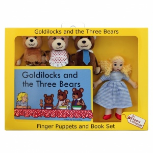 Goldilocks and the Three Bears Finger Puppet Story Set