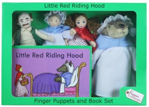 Little Red Riding Hood Finger Puppet Story Set