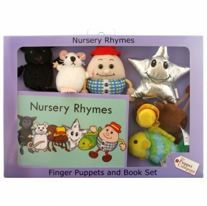 Nursery Rhymes Finger Puppet Story Set