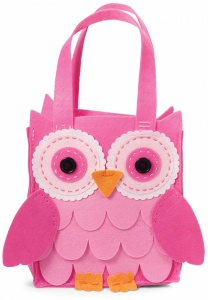 Make Your Own Felt Owl Bag