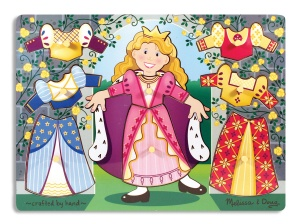 Melissa & Doug Princess Peg Puzzle