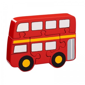 Lanka Kade Red Bus Jigsaw