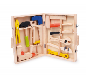 Child's Wooden Tool Box