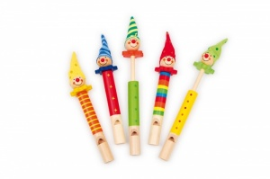Wooden Clown Whistle