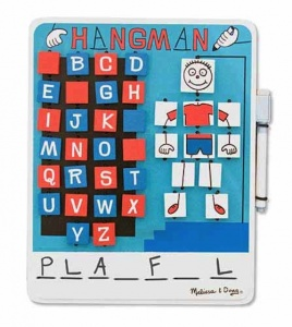 Melissa & Doug Wooden Hangman Game