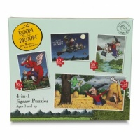 Room on the Broom 4 in 1 Puzzle