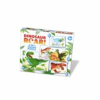 Dinosaur Roar 4 in 1 Puzzle