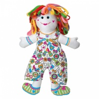 Colour and Cuddle Washable Rag Style Doll