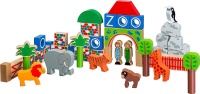 Lanka Kade Zoo 49 Building Blocks plus Bag