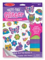 Mess Free Glitter Friendship Foam Stickers
