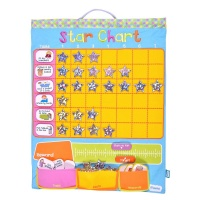 Fiesta Craft Children's Fabric Star Reward Chart
