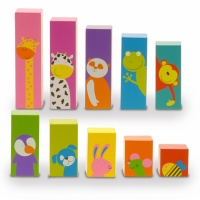 Fiesta Craft Sort 'n' Shake Wooden Blocks