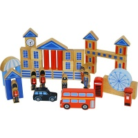 Lanka Kade London Building Blocks with Bag